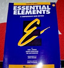Essential Elements -  BASSOON - Book 1