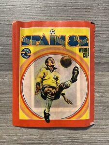 FKS Spain 82 World Cup Unopened Sticker Packet