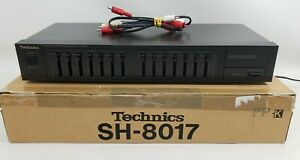 Technics SH-8017 Stereo Graphic Equalizer Japan EQ Vintage TESTED