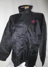 Joe Rocket Black Windbreaker Jacket Waterproof Motorcycle Black w/Stripe XL
