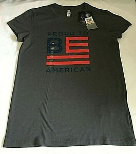Under Armour 1298025-019 Women's Freedom Proud to Be American T-Shirt, SM/P, NWT