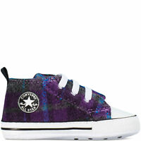 Converse All First Star Infant Babies Crib Trainer Soft Sole Bootie  Boy Girl