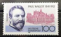 Bund BRD Michel-Nr. 1536 Postfrisch** (1991) Paul Wallot