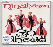 Nina Hagen Maxi-CD Go Ahead - 4-track - 864 297 2 - extended dance version
