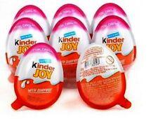 12 Kinder JOY GIRL Surprise eggllg -Chocolate Toy Inside, Easter Eggs kids Gift