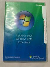 Microsoft Windows Vista - Anytime Upgrade Disc 32 bit English DVD CD - Great!!!