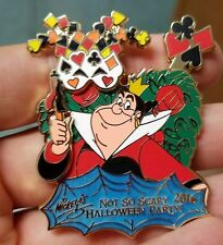 Queen of Hearts 2016 Mickey's Not So Scary Halloween Party LE 5555 Disney Pin