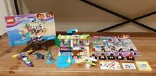 Lego Friends Bundle Heartlake Surf Shop 41315 100% Complete With Manual With...