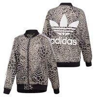 New Adidas Originals Womens Sports Jacket Jaguar Graphic Track Top DY0886