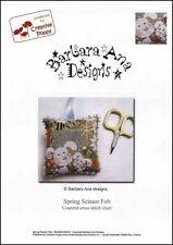 Barbara Ana Designs Counted X-stitch Chart - Spring Scissor Fob