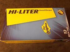 Avery 23591 Hi-Liter brand yellow pen style 12 pack 1 dozen