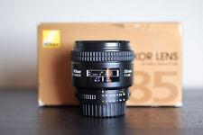 Nikon AF 85mm 1.8D Prime FX Lens!