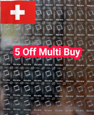 More details for 10 gram silver bars - pure 999 bullion - valcambi swiss made not scrap