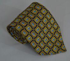 NEW PFIZER Blue Viagra Pill Pattern Promotional 100% Silk Mens Necktie Tie
