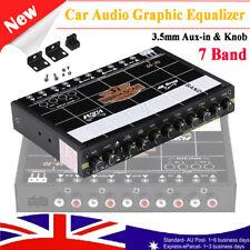car audio signal equalizers for sale ebaycar audio modified car equalizer fever class eq car 7 band equalizer w brackets