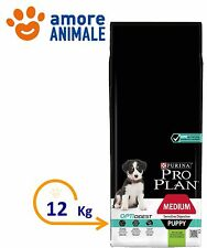 Purina Pro Plan Medium Puppy OptiDigest Sensitive Digestion con Agnello 12 kg