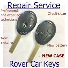Land Rover Discovery 2 TD4 TD5 / Rover 75 Remote Key Fob Case REPAIR SERVICE