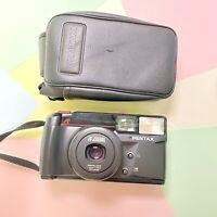 Retro Mint 35mm Pentax Zoom 70s AF Tele Macro Film point & shoot camera Lomo