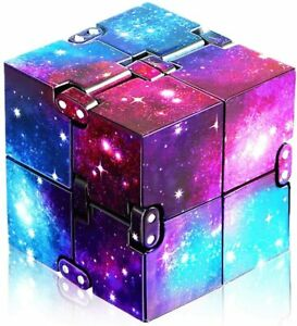 Infinity Cube Fidget Toy Stress Autism Anxiety Relief Kids Rubix Box ADHD party