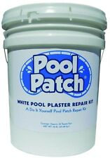 Pool Patch Waterproof 50lbs White Liquid Cement Bonder Plaster Crack Repair Kit