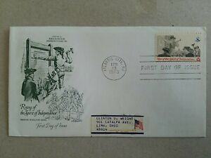 US FDC  Rising of the Spirit of Independence 1973. Atlanta
