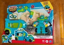 Transformers Rescue Bots Academy Command Center HOIST 5 Inch Figure Playset