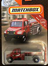 Matchbox Freightliner MBX County Tanker #5 M2 106 Fire Service NIP 2018