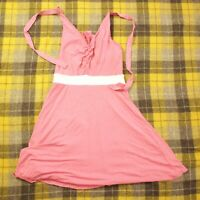 Victoria Secret Bra Tops Summer Dress Bathing Suit Cover Up Pink Sz Small