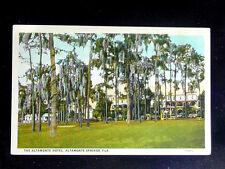 1920's? Altamonte Hotel Altamonte Springs FL post card