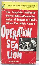 OPERATION SEA LION Fleming WWII England Invasion pb nr