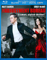 The Adjustment Bureau (Blu-ray + DVD 2-Disc Set, 2011, 2-Disc Set)