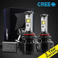 Cree H11/H8/H9 9005 9006 H7 H1 H3 LED Headlight Bulbs 30W 6000K white light kit