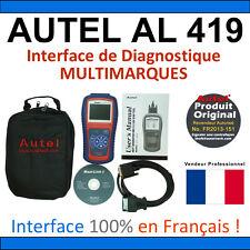 Valise Appareil Diagnostique Pro Multimarque En Français - Obd2 Diagnostic AL419