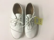 Men's TOMS 'Paseos' Lace up Leather Sneaker,White, Size 8 M