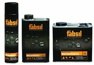 Fabsil, G Wax,Gold, 1L,2.5 Litre Grangers Canvas Tent Waterproofing Protector UV