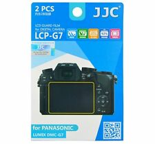 JJC LCP-G7 LCD Guard Film Camera Screen Protector for PANASONIC LUMIX DMC-G7