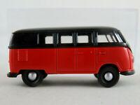 Brekina 3100 VW-Kombi T1a (1953) in rot/schwarz 1:87/H0 NEU/OVP