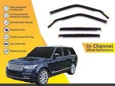 In channel wind deflectors rain guards Land Rover Range Rover IV  2013-up 4pc