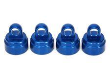 TRAXXAS 3767A Tappi Ammortizzatori Blu/SHOCK CAPS ALUMINIUM BLUE TRAXXAS