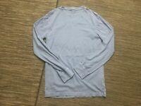 J Crew Mens XS Broken In Long Sleeve Tee T Shirt Blue Cotton 79214
