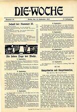 Felix Weingartner (Leitartikel) Konzertwesen und Konzertunwesen 1912