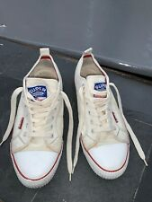 SUPERDRY Men's White/ Cream Canvas Shoes Size 11