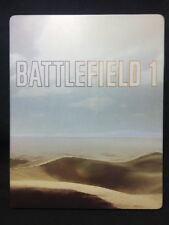 Battlefield 1 STEELBOOK (COMPLETE) PS4 Collector's With Codes *LN Condition