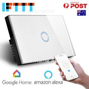 Australian Certified SMART HOME IFTTT Alexa & Google Home Wall Switch 1 gang SAA