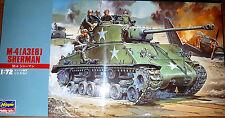 Carro Armato M-4 (A3E8) Sherman - Hasegawa Kit 1:72 Mt15 Nuovo