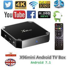 X96 MINI Android 7.1 TV Box 1GB+8GB Amlogic S905W Quad Core 4K HD WIFI KD-17 UK