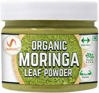 UMANAC Organic Moringa Oleifera Leaf Powder, Indian Herbal Supplement, 150g/ 5oz