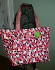 New Vera Bradley Large Family Tote Pixie Confetti NWT $58