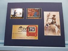 TV Western Heroes - The Lone Ranger & Tonto in their own movie & First day Cover