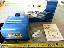 HAILEA V-20 COMMERCIAL GRADE HYDROPONICS AIR PUMP 320 GPH AQUARIUM FISH TANK